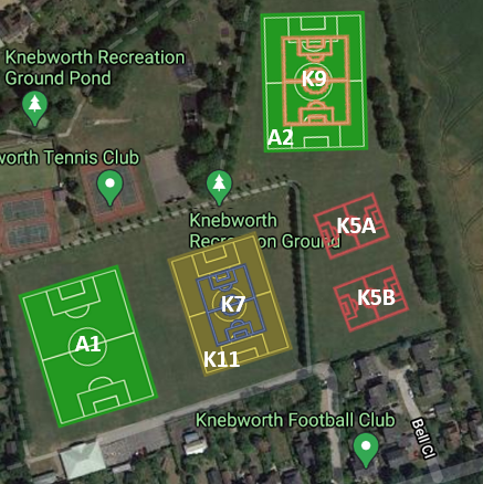 Knebworth Recreation Grounds 2020-21