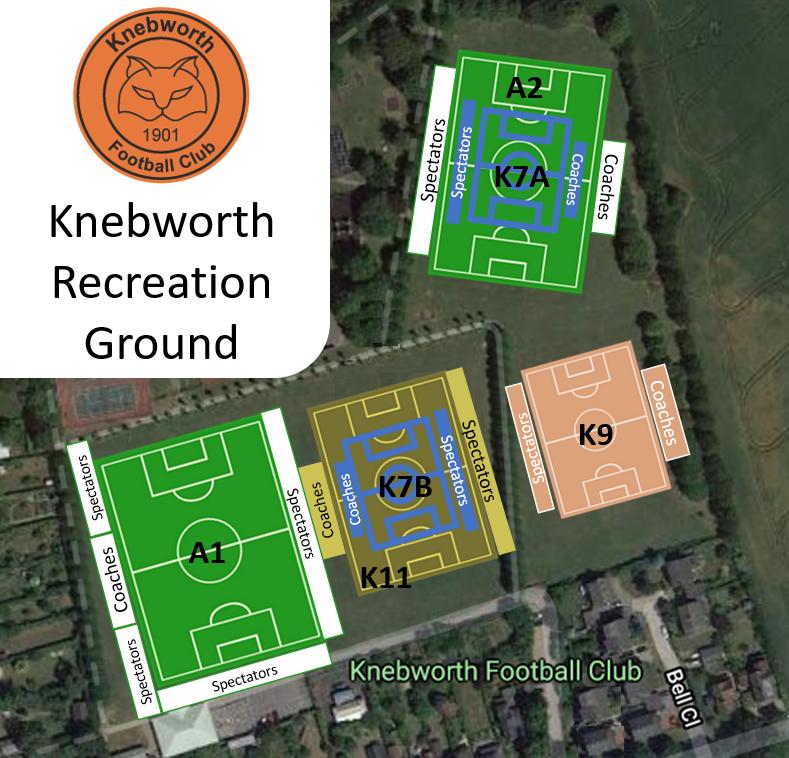 Knebworth Recreation Ground 2021-22